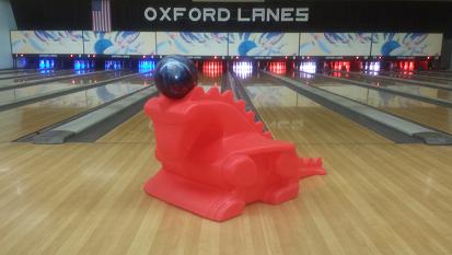 Dragon Ramp for kids at Oxford Lanes