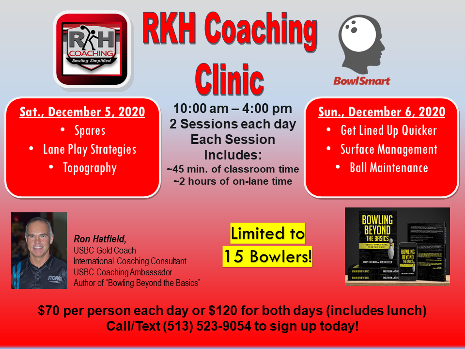 RKH Coaching December Clinics