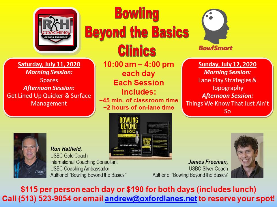 RKH Coaching & BowlSmart Clinics